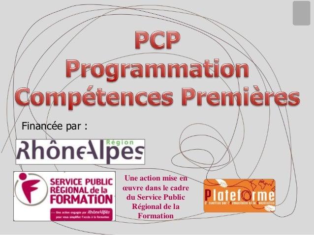 Programmation Compétences Premieres 2013 2015