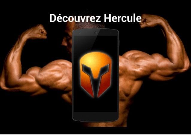 Hercule : application Android pour la musculation