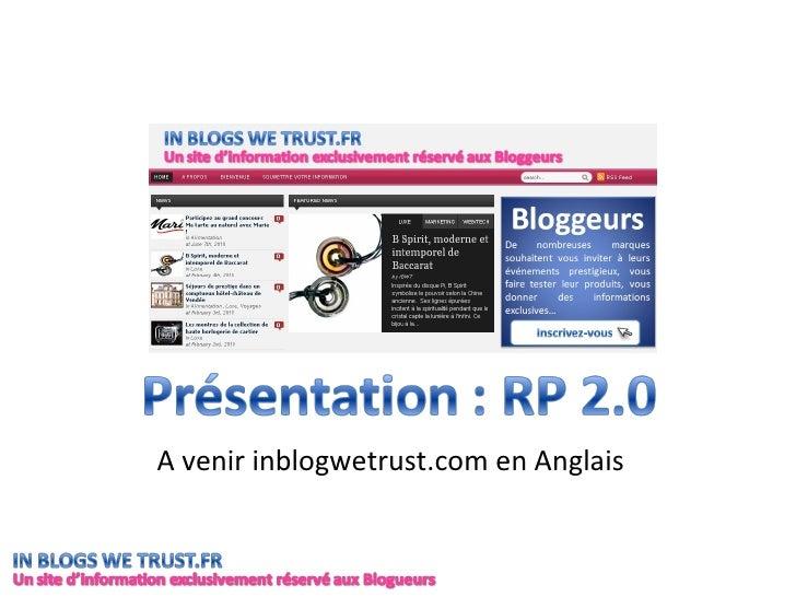 A venir inblogwetrust.com en Anglais