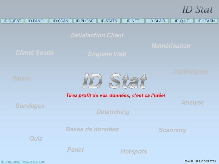 ID-QUEST          ID-PANEL        ID-SCAN    ID-PHONE    ID-STATS     ID-NET   ID-CLAIR   ID-QUIZ       ID-LEARN          ...