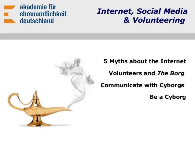 Präsentation internet, social media and volunteering