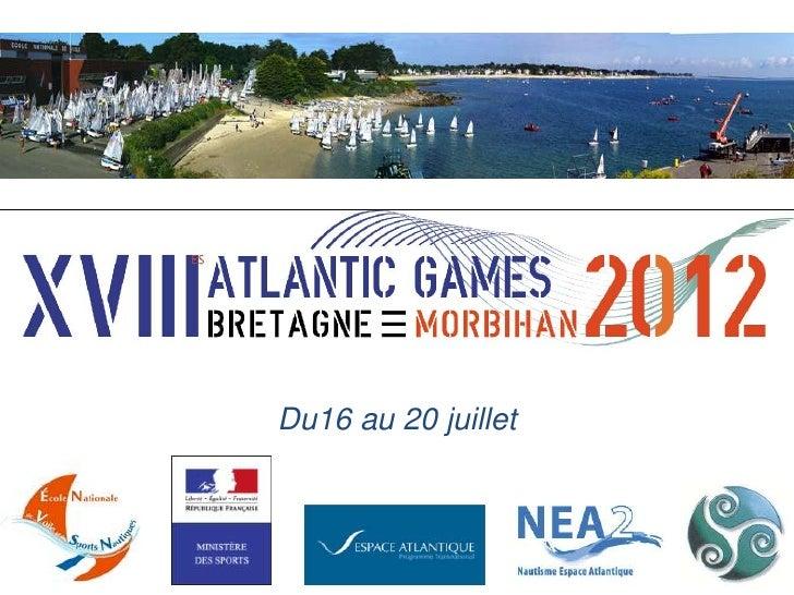 Jeux nautiques atlantique 2012
