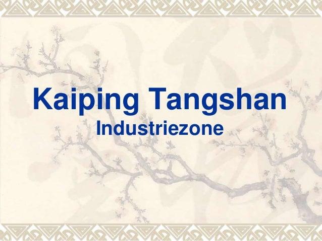 Kaiping Tangshan Industriezone