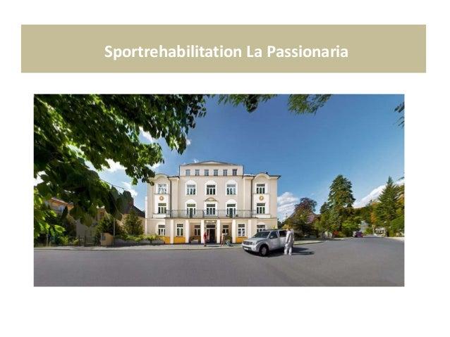 Sportrehabilitation La Passionaria