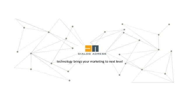 technology brings your marketing to next level