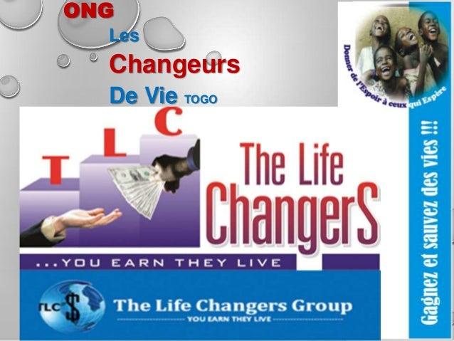 ONG Les  Changeurs De Vie TOGO