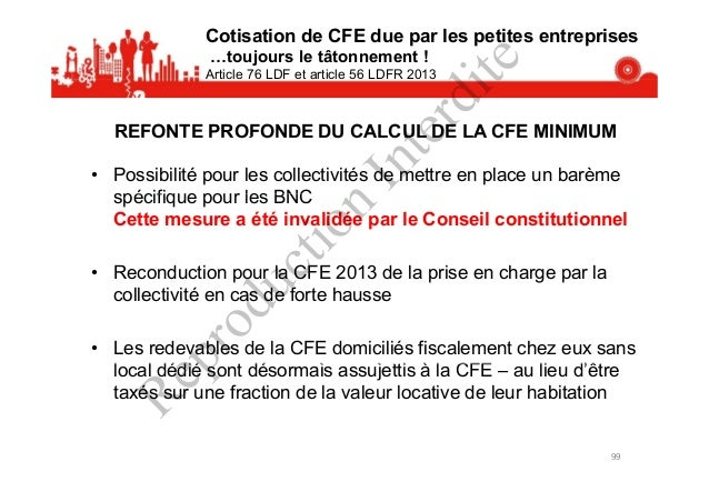 Présentation loi de finances 2014 - CCI Dunkerque