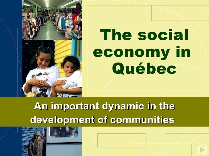 The Social Economy in Quebec
