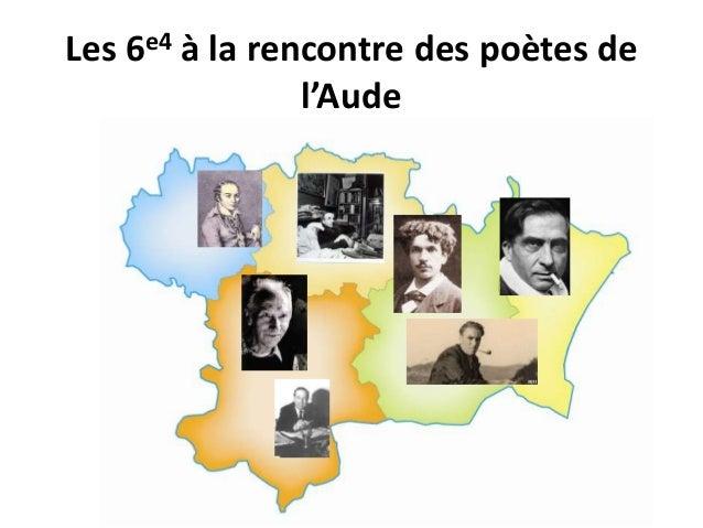 Les 6e4 à la rencontre des poètes de  l'Aude