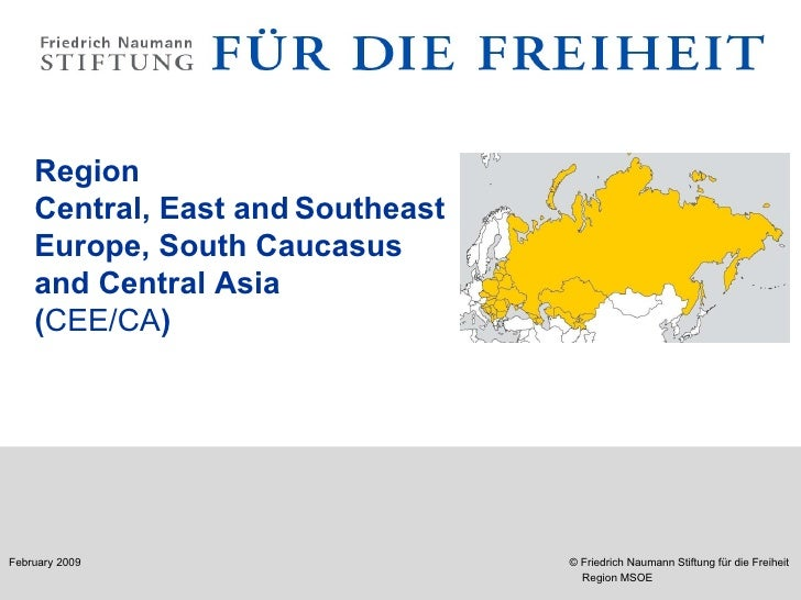 Region Central, East and   Southeast  Europe, South Caucasus  and Central Asia  ( CEE / CA )