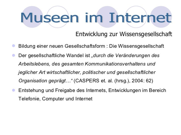 Museen im World Wide Web