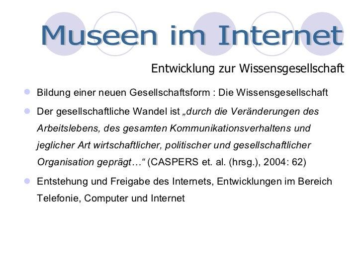 Museen im World Wide Web