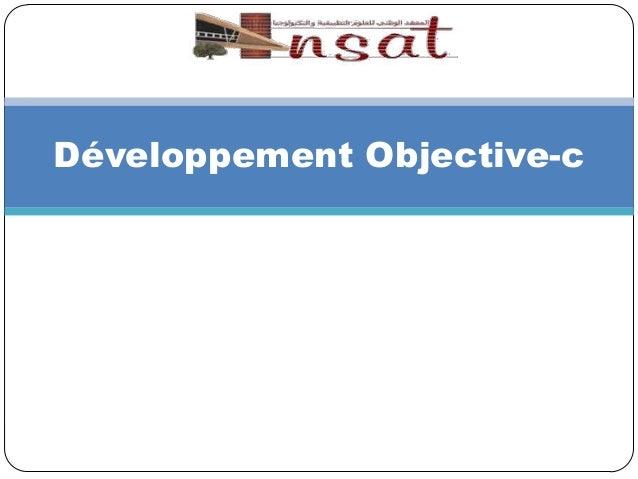 Développement Objective-c