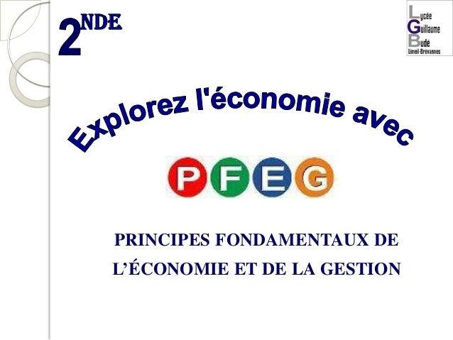 nde  PRINCIPES FONDAMENTAUX DE  L'ÉCONOMIE ET DE LA GESTION