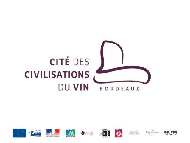 Le Cité des Civilisations du Vin - Philippe Massol