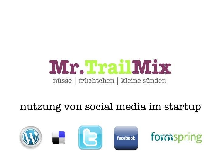Nutzung von Social Media im Startup