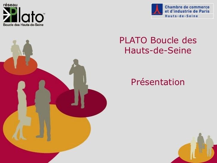 PLATO Boucle des Hauts-de-Seine Présentation