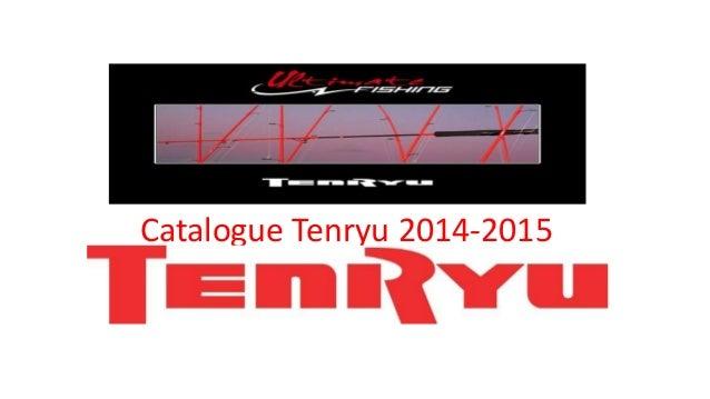 Catalogue Tenryu 2014-2015