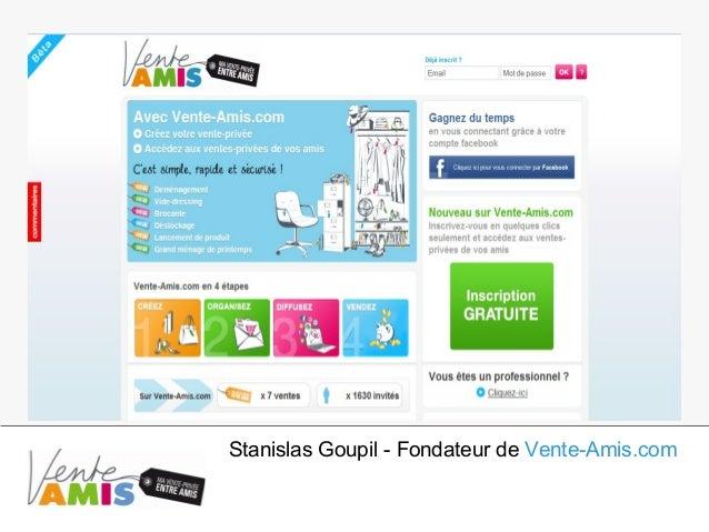 Stanislas Goupil - Fondateur de Vente-Amis.com
