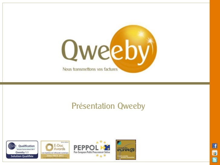 Présentation Qweeby