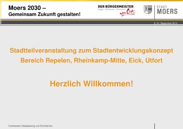 Präsentation repelen rheinkamp_eick_utfort
