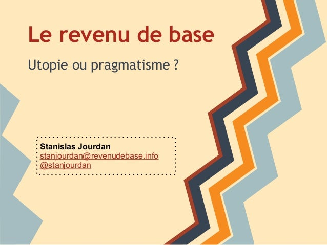 Introduction au revenu de base inconditionnel