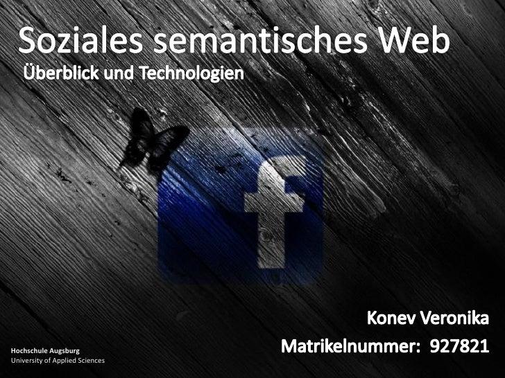 Präsentation social semantic web