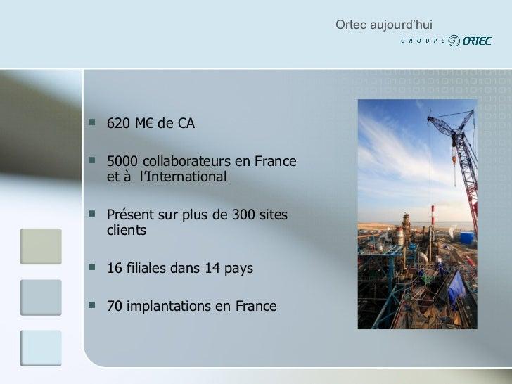 <ul><li>620  M€ de CA </li></ul><ul><li>5000  collaborateurs en France et à  l'International </li></ul><ul><li>Présent sur...