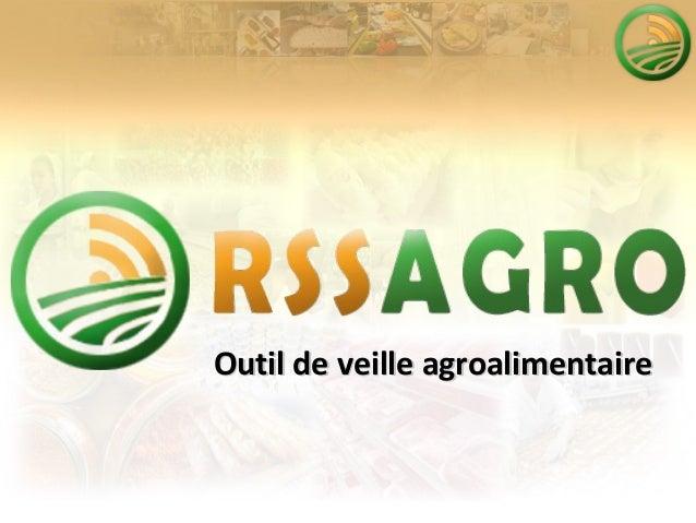 Présentation veille agroalimentaire