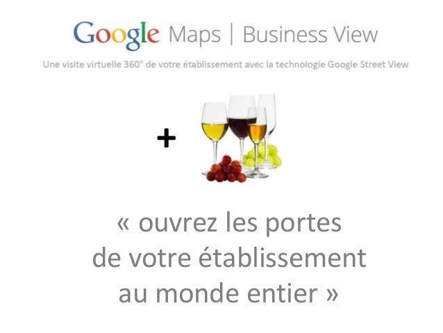 Google Local pour les professionnels du vin
