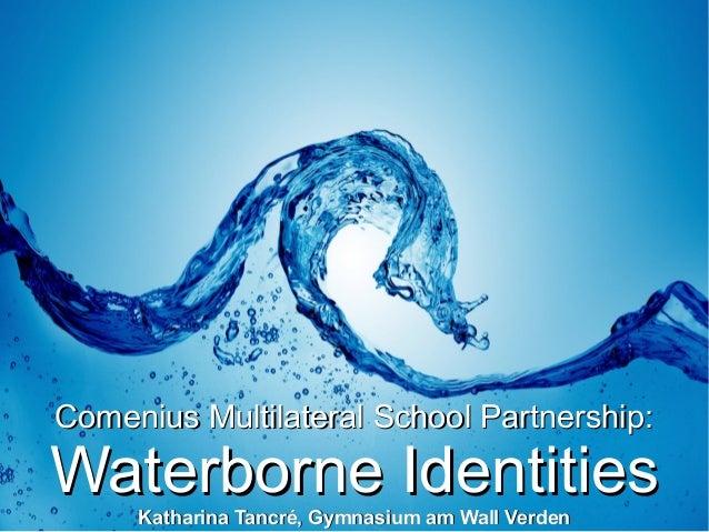 Präsentation waterborne identities katharina tancré