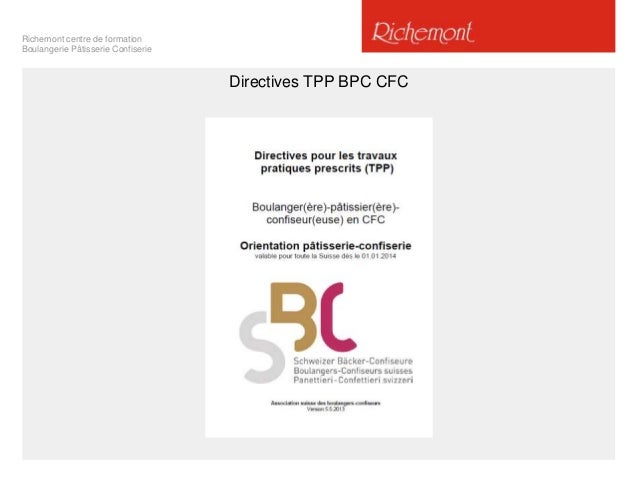Présentation Information Directives CFC