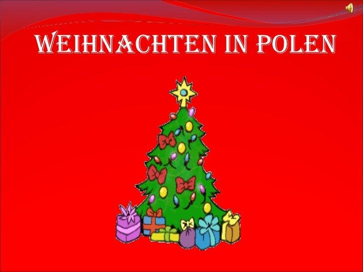 Präsentation weihnachten in polen