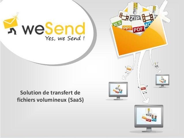weSend - Presentation