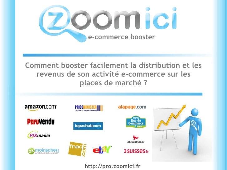 Comment booster facilement la distribution et les revenus de son activité e-commerce sur les places de marché ? e-commerce...