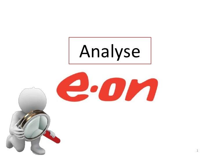Wettbewerbsanalyse E.on