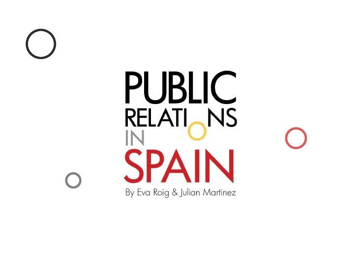 PR in Spain
