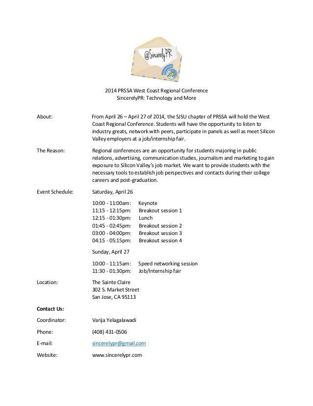 pr resume examples