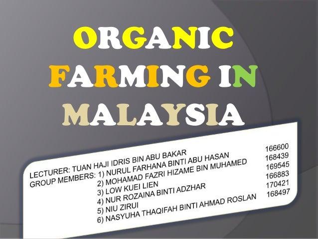 Farm Malaysia Organic Farming in Malaysia