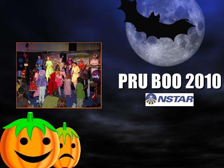 Pru boo sponsorship nstar