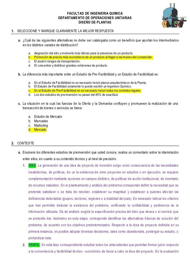 FACULTAD DE INGENIERIA QUIMICA                                   DEPARTAMENTO DE OPERACIONES UNITARIAS                    ...