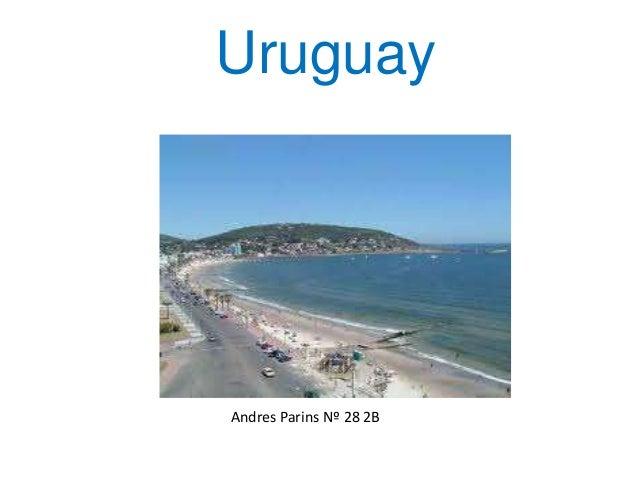 Uruguay Andres Parins Nº 28 2B