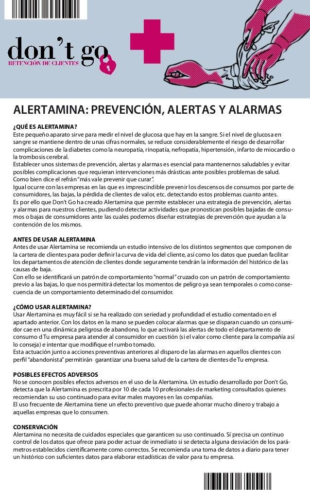 ALERTAMINA: PREVENCIÓN, ALERTAS Y ALARMAS ¿QUÉ ES ALERTAMINA? Este pequeño aparato sirve para medir el nivel de glucosa qu...