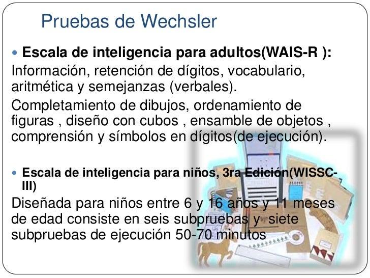 test de wechsler para adultos pdf