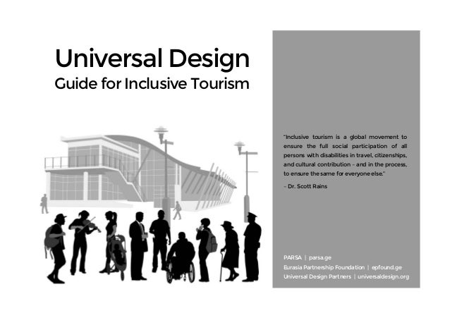 Universal Design Guide for Inclusive Tourism by Scott and Sarah Pruett