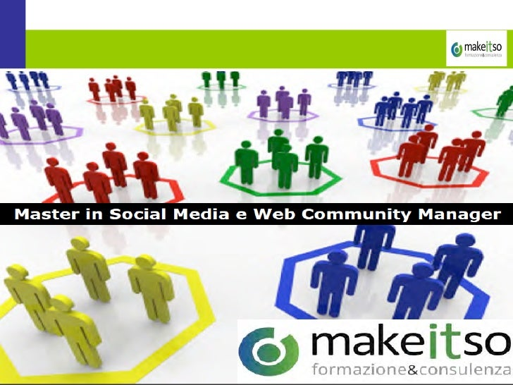 Lezione di Social Media Marketing in Make it So