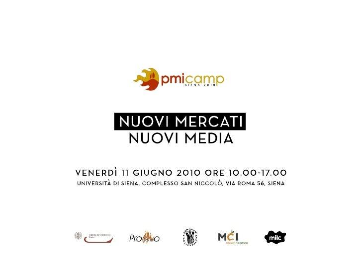 Social Media Marketing: Presentazione I social media per l'Enterprise 2.0