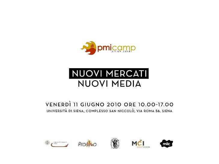 Social Media Marketing: Presentazione I social media per l'Enterprise 2.0