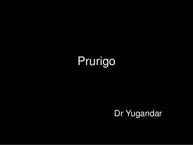 Prurigo Dr Yugandar