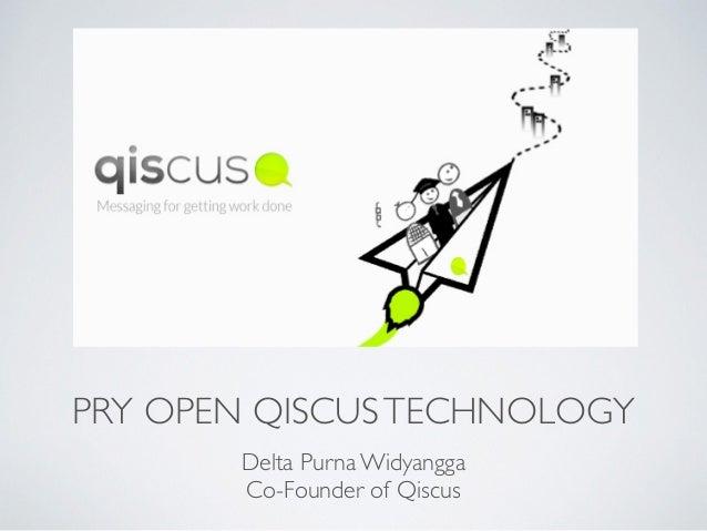 Pry open qiscus